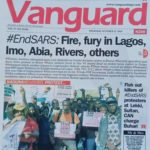 Nigeria on fire (vanguard newspaper)