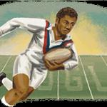 Clive Sullivan immortalized by google